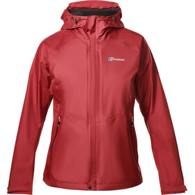 Berghaus Paclite Storm Jas Dames rood